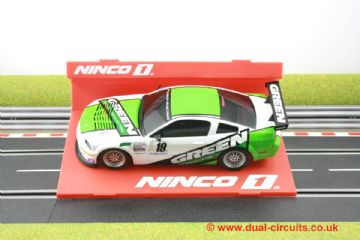 Ninco 55033 Ford Mustang FR500 Green